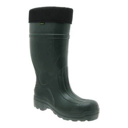 Demar Eva Men's Wellies Warm Padding Wellington Boots Boots with Boot Socks