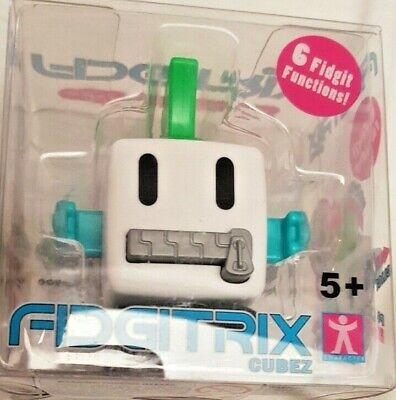 Fidgitrix Cubez - Antistress Con 6 Funzioni Fidgit - Punk Bianco - Nuovo Sconto Online