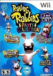 Raving-Rabbids-Party-Collection-Nintendo-Wii-2010-NEW-FAST-SHIPPING-UBISOFT