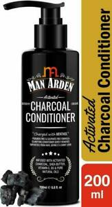 Man Arden Activated Charcoal Conditioner with Shea Butter & Vitamin E B5 200ml
