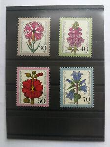 # 65, Bund Mi.-Nr. 618 - 621, Wohlfahrtsmarken Blumen, 1974, postfrisch - Nettetal, Deutschland - # 65, Bund Mi.-Nr. 618 - 621, Wohlfahrtsmarken Blumen, 1974, postfrisch - Nettetal, Deutschland