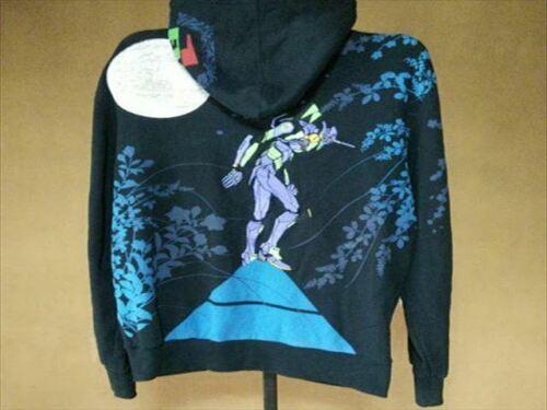 Neon Genesis Evangelion Hoodie Blue Size XL Evange