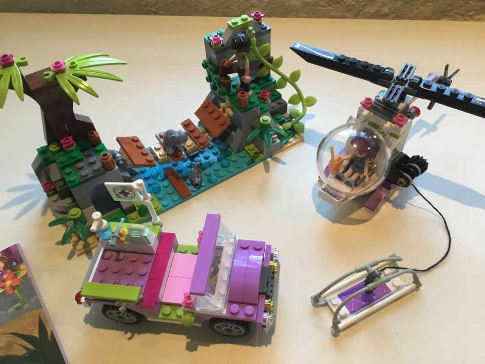 Lego Friends, 41036 Jungle Bridge Rescue