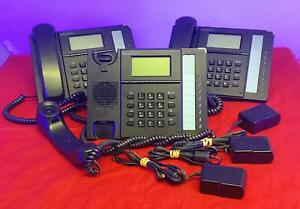 LOT of 3 Talk Switch 350i Voice Over IP VOIP Phone with Power Cables
