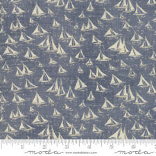 Janet Clare Ebb And Flow Quilt Fabric Ships Ocean Style 1486//12