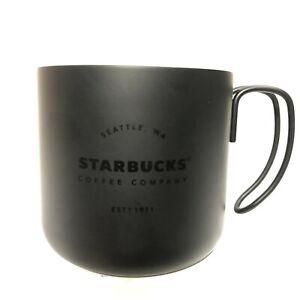 Starbucks Stainless Steel Coffee Mug 12 oz.Black | eBay