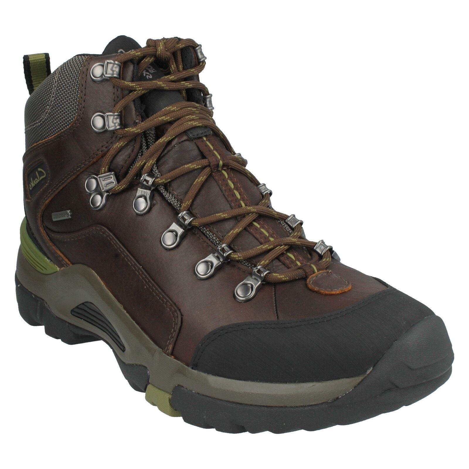 OutRide HI da GTX da HI Uomo Clarks in Pelle Impermeabili Stringati Sporty Hiker Stivaletti b86ac9
