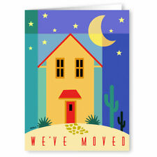 18 Boxed Cards /& Envelopes 14217 We/'ve Moved Note Card