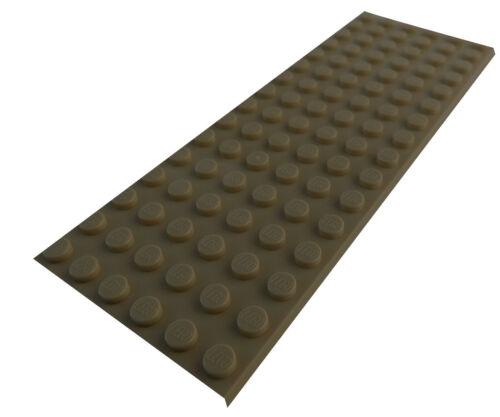 Platte 6x16 3027 Neu Platten Basics Lego 2 Stück dunkelbeige dark tan