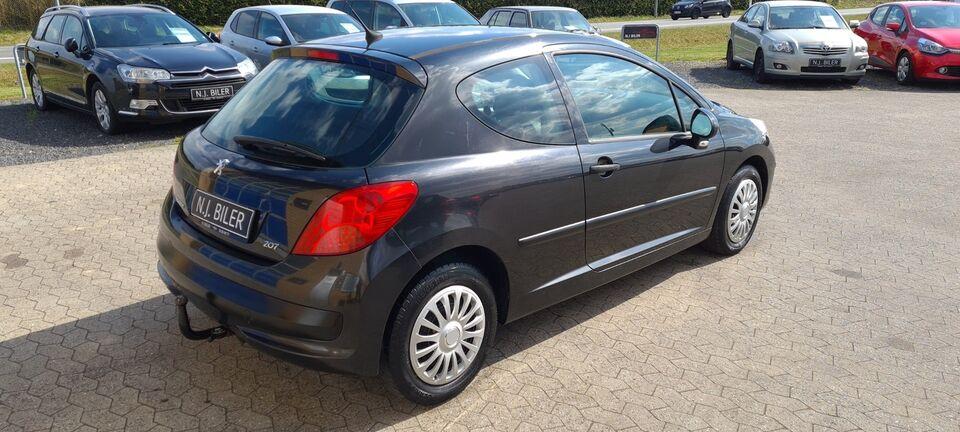 Peugeot 207 1,4 HDi Diesel modelår 2006 km 274000 træk ABS
