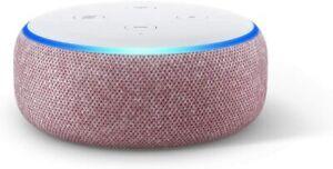 NUOVO-Amazon-ECHO-DOT-3rd-generazione-con-Alexa-vocale-intelligente-altoparlante-Prugna-SPEDIZIONE