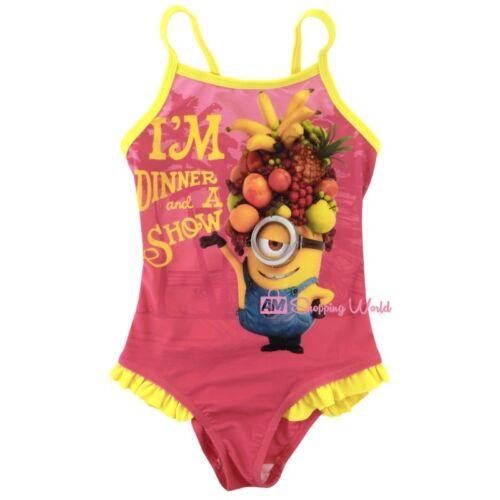 Minions Badeanzug für Mädchen in verschiedenen Größen Neu /& Ovp
