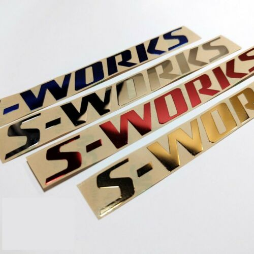 3D Visual S-works Sticker for Road Bike Bicyle Frame Cycling Race Decals