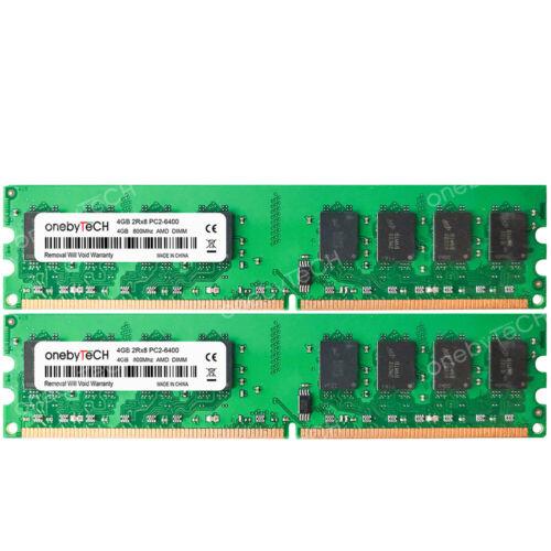 4GB 8GB 16GB PC2-6400 DDR2 800 240pin 1.8v Memory Fr Gigabyte AMD GA-MA790FX-DQ6