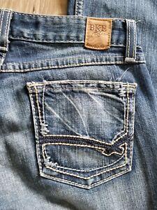 Women-039-s-BKE-denim-stretch-bootcut-Sabrina-jeans-size-26-31-1-2