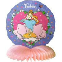 Thumbelina Vintage Honeycomb Centerpiece Birthday Party Supplies Decorations