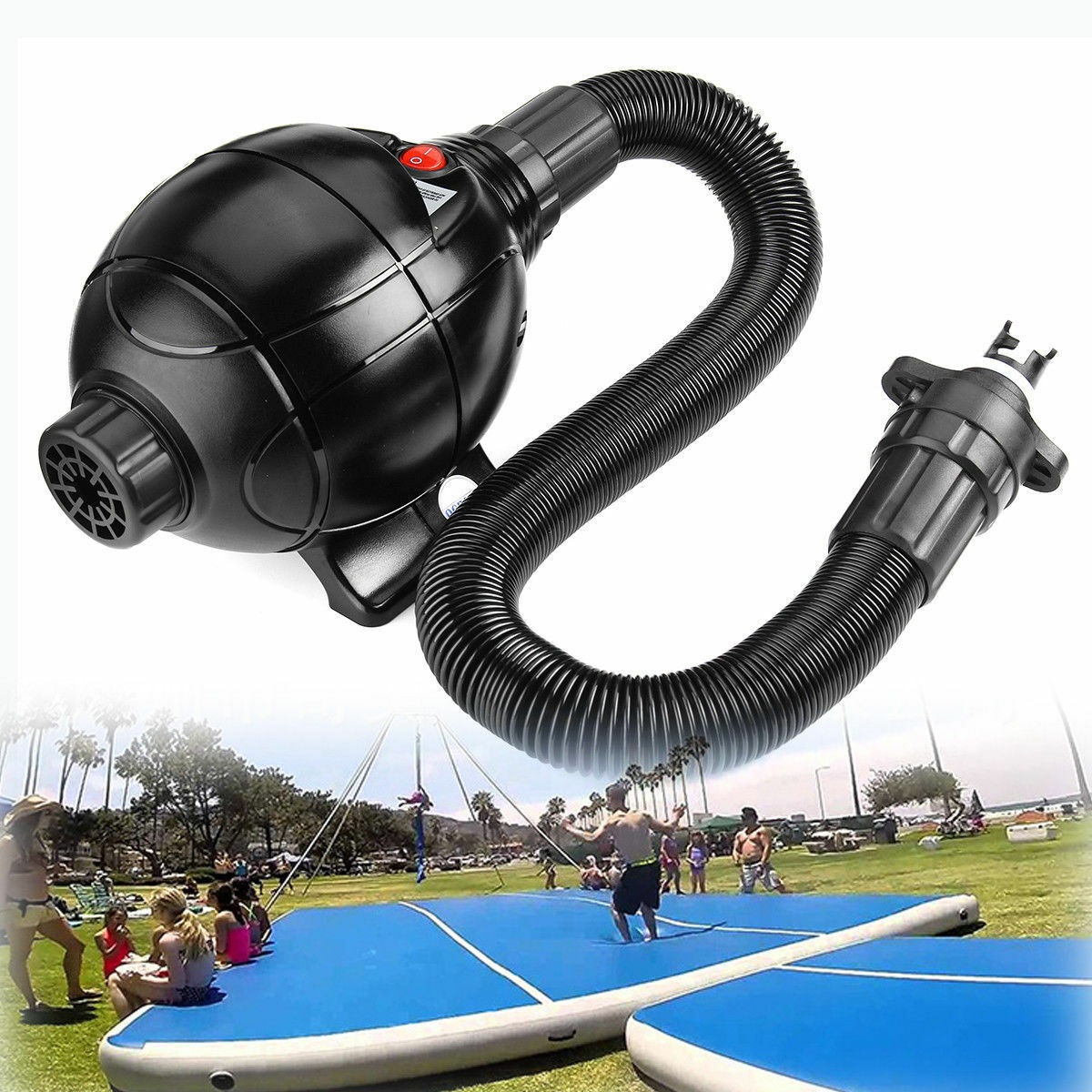 CE Inflatable and Inhale Air Compressor Compressor Compressor Pump For Inflatable Zorb Ball Toys 1009e8