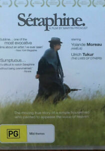 Seraphine-DVD-Rare-Region-4-FRENCH-MARTIN-PROVOST-FILM-YOLANDE-MOREAU