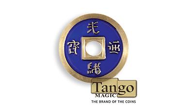 Dimensione Del Dollaro Cinese Coin (blu) Di Tango (ch030)- Rafforzare La Vita E I Sinews
