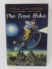 THE TIME BIKE Jane Langton 1st Printing Edition HB/DJ Excellent Newbery