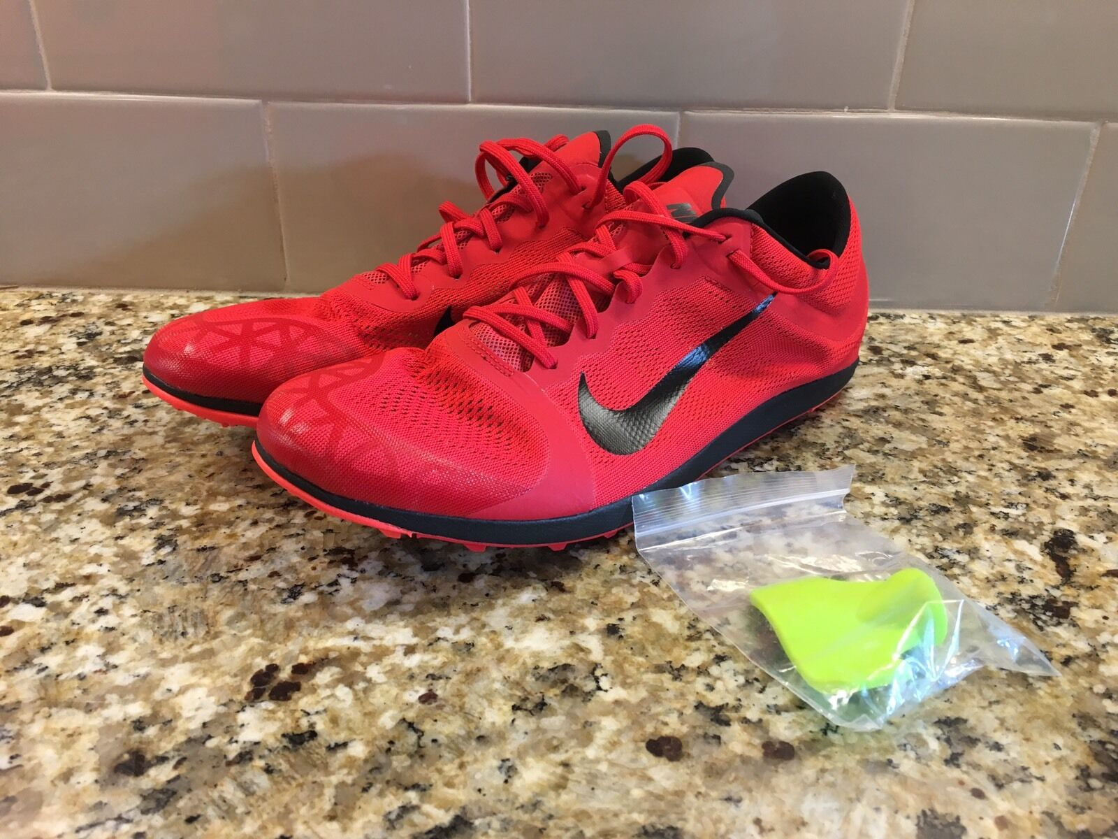 Men's Nike Zoom XC Cross Country Spikes 844132 600 Size Mens 12.5 Womens 14.5