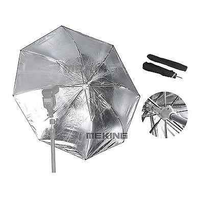 "Selens Photo Studio Lighting Folding Umbrella 36"" Black & Silver & Umbrella Case"