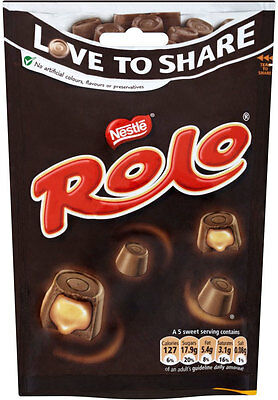 Nestle Rolo Pouch 3 x 126g -  Will Ship World Wide From UK