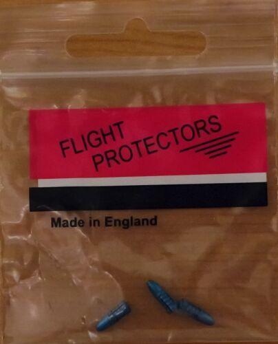 "/""Blue Beehive/"" Alloy Flight Protectors//Savers 3X3 3 Sets"