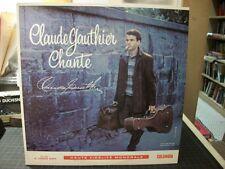 FRANCO LP: CLAUDE GAUTHIER Chante CLAUDE GAUTHIER LACOMBE Columbia 6-EYE MONO