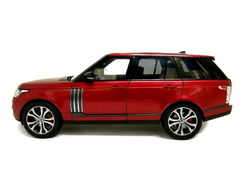 Range Rover SV Autobiography Dynamic rot 2017 1 18 Model LCD MODELS