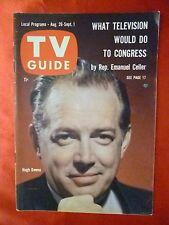 Portland Oregon August 26 TV GUIDE 1961 HUGH DOWNS story on Autographs For Sale