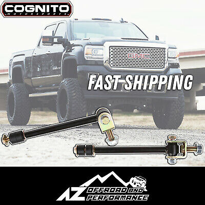 """Cognito 110-90252 Heavy Duty 7/"""" Sway Bar End Link Kit for GMC Sierra 2500 HD"""