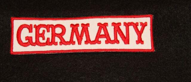 GERMANY  Aufnäher  forever 12x3cm  Biker Kutte Patch Neu 81 -2345679/1