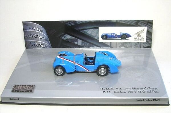 Delahaye type 145 v-12 grand prix (bleu) 1937