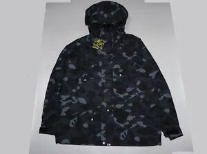 3b1c14f41d0d Image is loading 12694-bape-x-NEIGHBORHOOD-camo-snowboard-jacket-black-