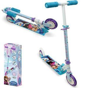Roller Scooter Tretroller Frozen Klappbar Cityroller Kinderroller