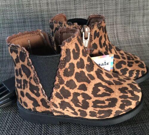 GARANIMALS TODDLER GIRLS LEOPARD Print Boots SIZE 5