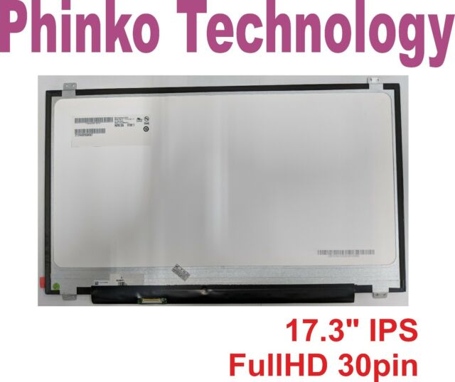 "17.3"" Full HD FHD(1920x1080) LED Screen For LP173WF4 SPF1 SP F1 30pin IPS Panel"