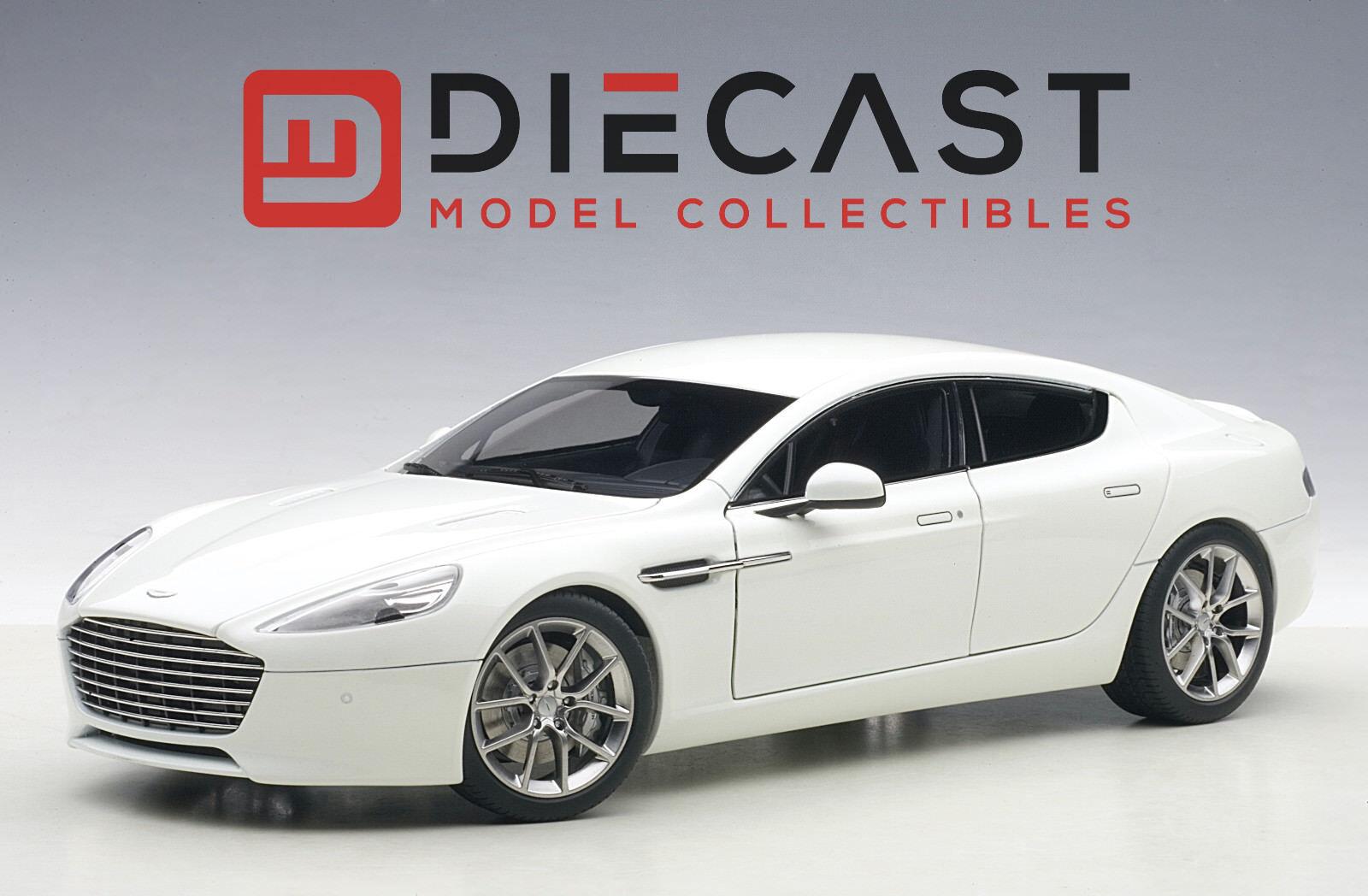 AUTOart 70256 Aston Martin Rapide S 2015, Stratus White 1:18TH Scale