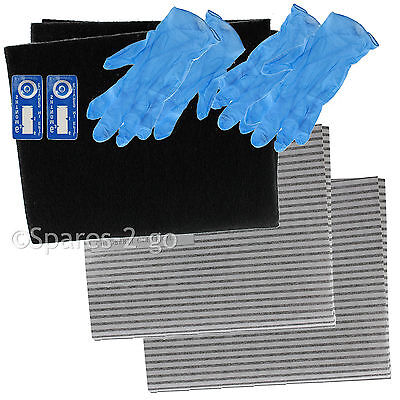 Cooker Hood Grease Filter With Saturation Indicator x 2  for CREDA// SAMSUNG// LG