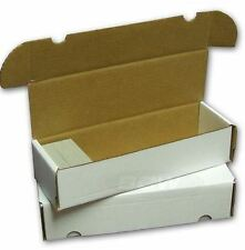 BCW 660 Count Cardboard Card Storage Box - Holds 580 Standard / 940 Gaming Cards