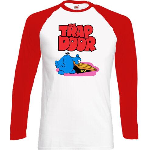 The Trap Door T-Shirt Mens Retro 80/'s Kids TV Program Animated Cartoon Show Top