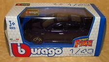 MODELLINO AUTO BURAGO ALFA ROMEO GIULIETTA BLU SCURO METAL 1:43 cod.14416