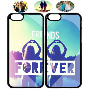 wholesale dealer 6737b 077c8 Details about Sister Heart Best Friends Forever Phone Case Cover For iPhone  X XS 6 7 8 S9 S10