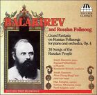 Balakirev and Russian Folksong (CD, May-2007, Toccata Classics)
