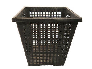 4-034-Square-Pond-Plant-Basket-x-3-pcs-Value-Pack-Allows-Great-Water-Flow