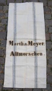 Antiker-Leinen-Sack-Mehlsack-Bauernleinen-Getreidesack-antique-linen-sack