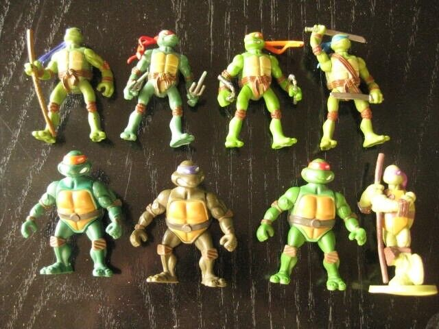 Figurer, Ninja turtles