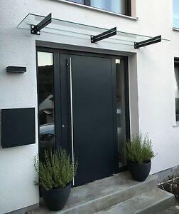 edelstahl vordach inkl vsg in allen gr en von 120cm bis 10 meter vsg breite ebay. Black Bedroom Furniture Sets. Home Design Ideas
