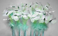 12 Pc Butterfly Pens Recuerdos Favors Mint Birthday Baby Shower Quinceanera Keep